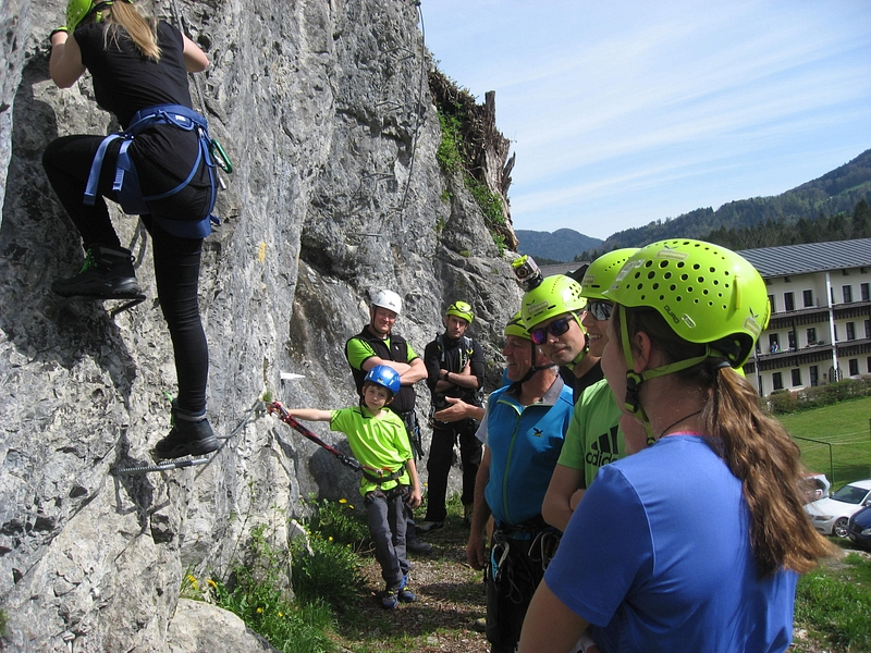 Klettersteigkurs : Klettersteigkurs april